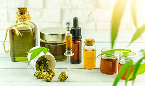 custom products- CBD Oils and flower