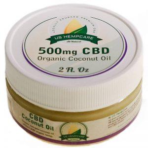 CBD Coconut Oil 500mg