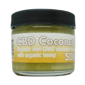 500mg CBD Coconut Oil