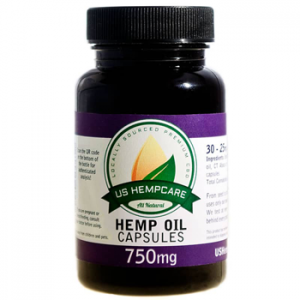 750mg CBD Hemp Oil Capsules