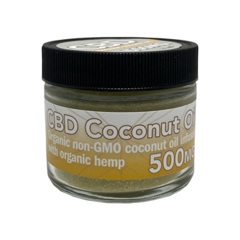 500mg CBD Coconut Oil